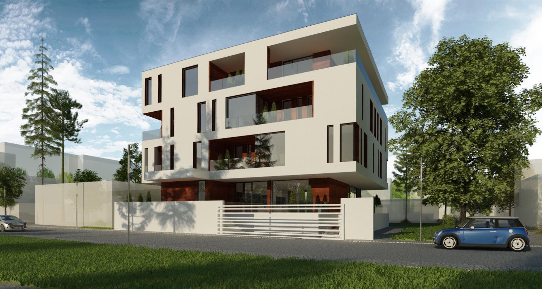 Proiect Imobil Rezidential cu 10 apartamente Galati, GL | Concept Design Imobil Rezidential cu 10 apartamente cod R222, Galati, GL | proiect din portofoliul CUB Architecture
