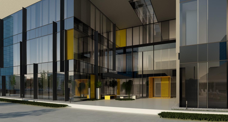 Reconversie Hala Existenta in Imobil de Birouri Clasa A Bucuresti, S 6 | Concept Design finalizat pentru Reconversie Hala Productie in Imobil de Birouri Clasa A cod ROSP Bucuresti, Sectorul 6 | proiect din portofoliul CUB Architecture