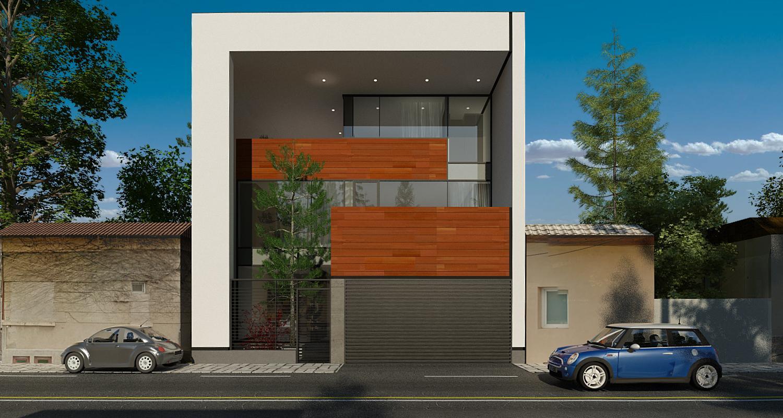 Proiecte case vile din portofoliul cub architecture for Casa cub moderne