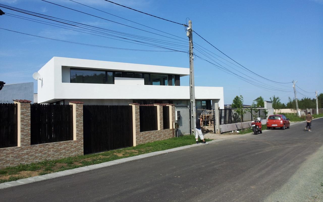 case moderne lucrare finalizata casa moderna cod amc fin in - Casa Cub Moderne
