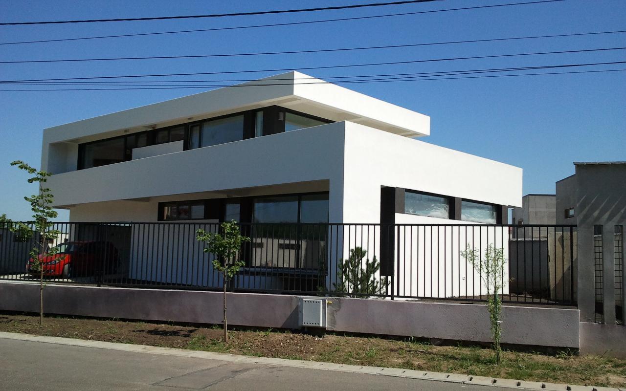 Case moderne lucrare finalizata casa moderna cod amc fin for Casa moderna romania
