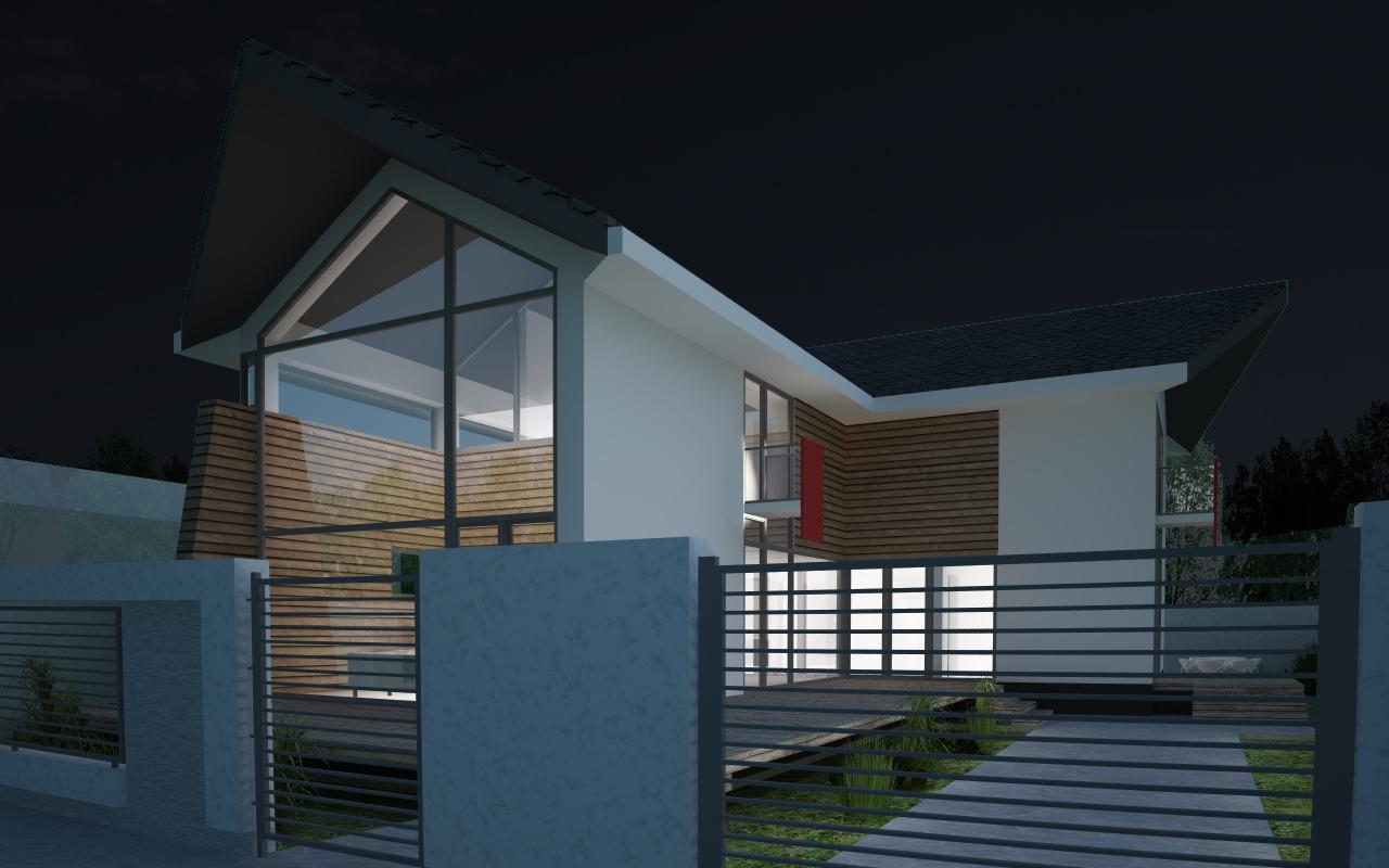 Locuinta Unifamiliala moderna Alba Iulia | Proiect Locuinta Unifamiliala moderna Alba Iulia cod BMA | proiect din portofoliul CUB Architecture