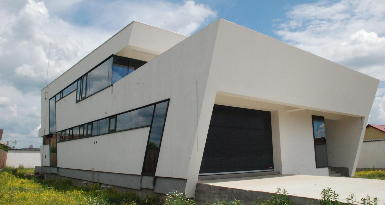 En locuinte moderne lucrare finalizata casa moderna cod cfp fin pitesti arges proiect din - Casa cub moderne ...