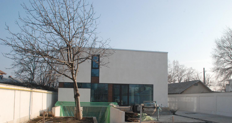Locuinte moderne lucrare finalizata casa moderna cod caa fin alexandria teleorman for Casa cub moderne