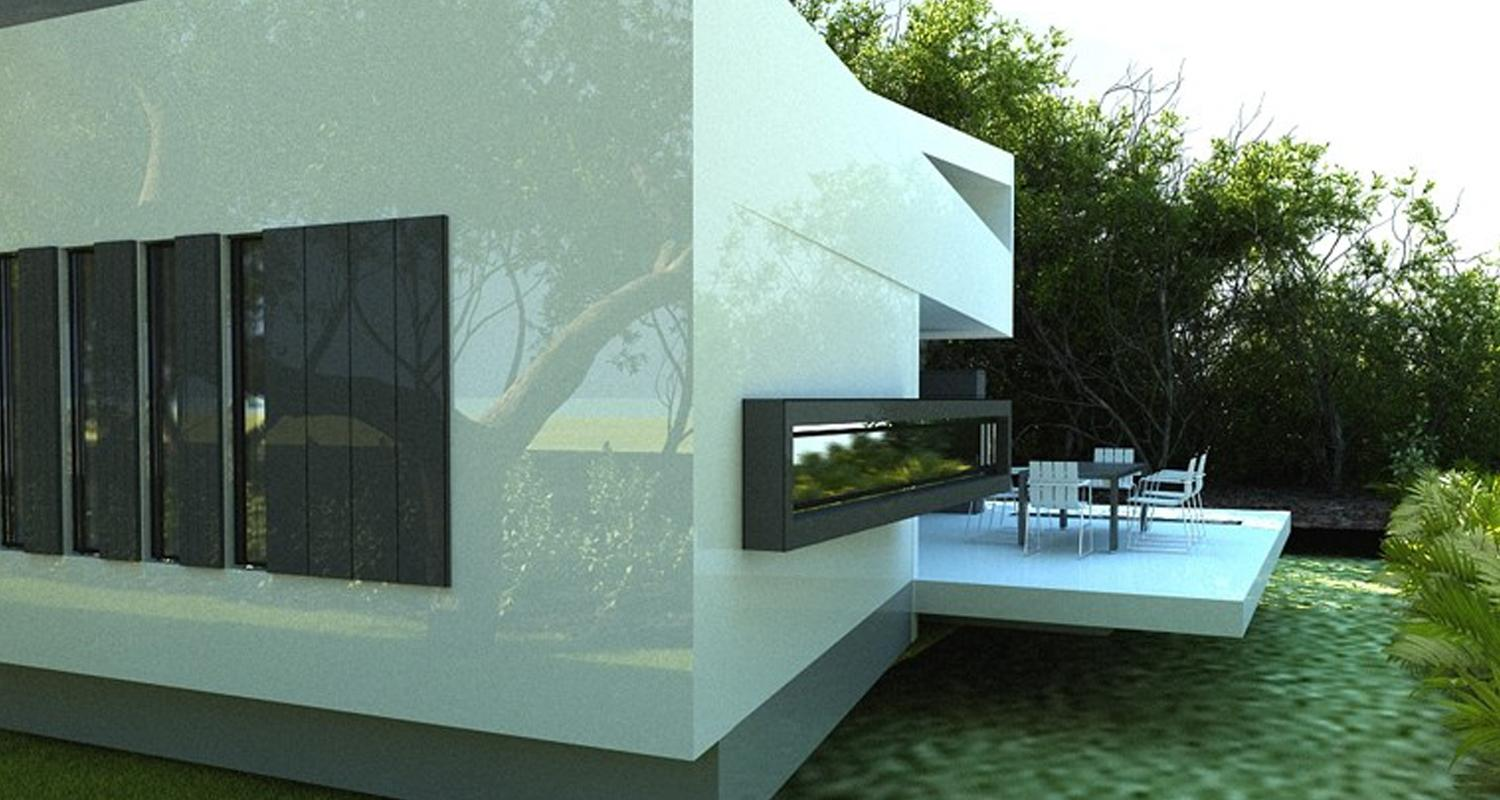 Modern House Voluntari If Project From Cub