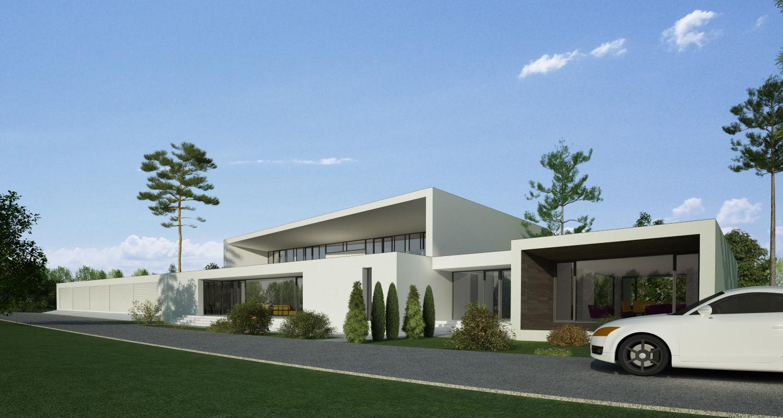 Proiect Locuinta Bifamiliala Moderna  in Erbil, Irak | Concept Design casa bifamiliala moderna cod KNI in Erbil, Irak | Proiect din portofoliul CUB Architecture