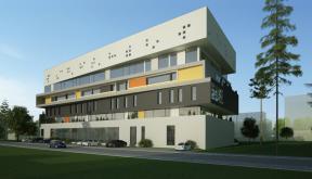 Proiect Imobil Birouri in Zona Destructurata, Bucuresti | Concept Design proiect imobil de birouri in zona destructurata cod OFOL in Bucuresti, S2 | Proiect din portofoliul CUB Architecture