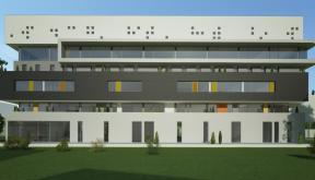 Proiect Imobil Birouri modern in Zona Destructurata, Bucuresti | Concept Design proiect imobil de birouri in zona destructurata cod OFOL in Bucuresti | Proiect din portofoliul CUB Architecture
