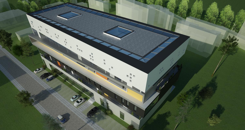 Proiect Imobil Birouri modern in Zona Destructurata, Bucurestm Sector 2 | Concept Design proiect imobil de birouri in zona destructurata cod OFOL in Bucuresti | Proiect din portofoliul CUB Architecture