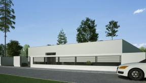 Proiect Locuinta Parter in Corbeanca | Concept Design casa parter pe teren generos cod TER, Corbeanca, Ilfov | Proiect din portofoliul CUB Architecture