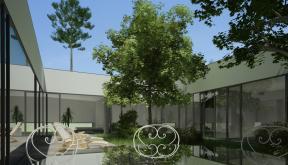 Proiect Locuinta Parter in Corbeanca | Concept Design finalizat casa parter pe teren generos cod TER, Corbeanca, If | Proiect din portofoliul CUB Architecture
