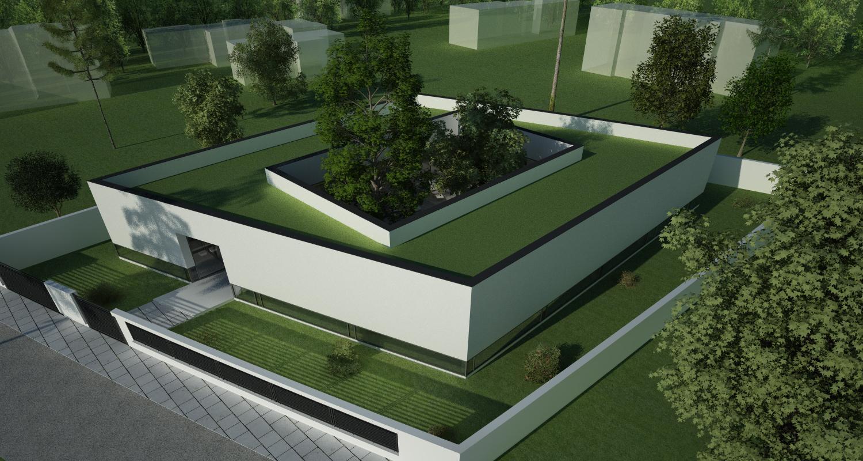 Proiect Locuinta Parter in Corbeanca | Concept Design casa parter pe teren generos cod TER, Corbeanca, If | Proiect din portofoliul CUB Architecture
