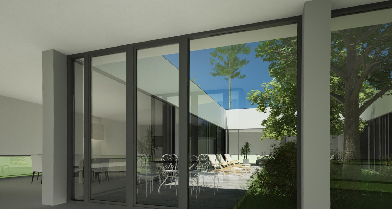 Proiect Locuinta Parter in Corbeanca | Concept Design finalizat casa pe teren generos cod TER, Corbeanca, If | Proiect din portofoliul CUB Architecture