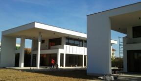 Ansamblu cu 2 Locuinte Moderne finalizate in Pitesti, Ag | Lucrare finalizata case cod LPP Fin Pitesti, AG | proiect din portofoliul CUB Architecture