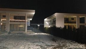 Ansamblu Locuinte Moderne finalizate in Pitesti, Arges | Lucrare finalizata case moderne cod LPP Fin Pitesti, Arges | proiect din portofoliul CUB Architecture - imagine de noapte