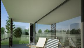 Imobil rezidential cu 6 apartamente de 2 si 3 camere in Bucuresti, Sect 1 |  Concept Design Finalizat bloc de locuinte modern cu 6 apartamente cod LRBG in Bucuresti, S1 | Proiect din portofoliul CUB Architecture