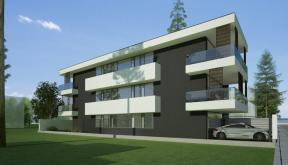 Imobil rezidential cu 6 apartamente de 2 si 3 camere in Bucuresti, Sector 1 |  Concept Design Finalizat bloc de locuinte modern cu 6 apartamente cod LRBG in Bucuresti, Sector 1 | Proiect din portofoliul CUB Architecture