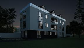 Proiect Imobil Rezidential Neatarnarii, Bucuresti, S 1 | Concept design bloc de locuinte modern cu 8 apartamente cod RELN in Bucuresti, S1 | Proiect din portofoliul CUB Architecture