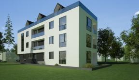 Proiect Imobil Rezidential Neatarnarii, Bucuresti, Sector 1 | Concept design Finalizat bloc de locuinte modern cu 8 de apartamente cod RELN in Bucuresti, S1 | Proiect din portofoliul CUB Architecture