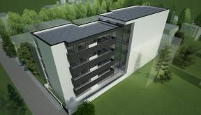 Proiect Imobil Rezidential Modern cu 25 Apartamente Bucuresti. S 3 | Concept Design bloc de locuinte cu 25 apartamente cod BMVD in Bucuresti, S 3 | Proiect din portofoliul CUB Architecture