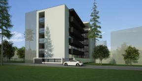 Proiect Imobil Rezidential Modern cu 25 Apartamente Bucuresti. Sector 3 | Concept Design bloc de locuinte modern cu 25 apartamente cod BMVD in Bucuresti, Sector 3 | Proiect din portofoliul CUB Architecture
