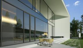 Proiect Locuinta Moderna Parter si etaj | Concept Design casa parter si etaj pe teren triunghiular cod MIN, Mogosoaia, if