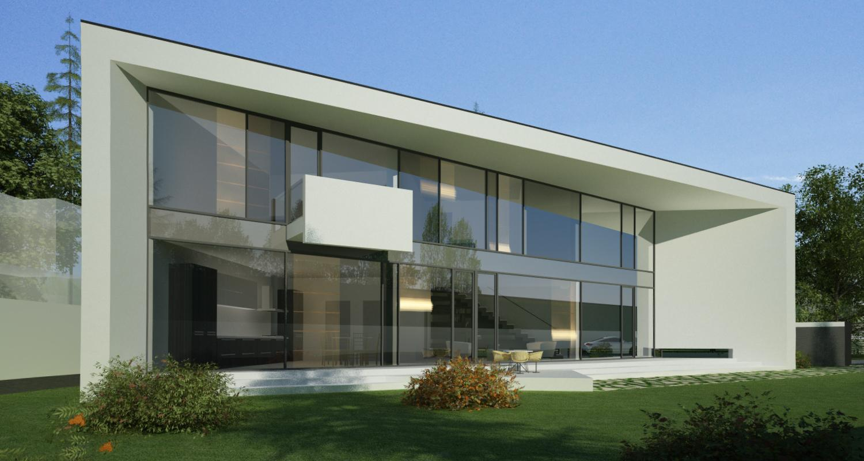Proiect locuinta moderna parter si etaj concept design for Case parter