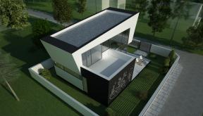 Proiect Locuinta Unifamiliala in Bucuresti, Sector 1 | Concept Design locuinta unifamiliala cod VMI in Bucuresti, S 1 | proiect din portofoliul CUB Architecture