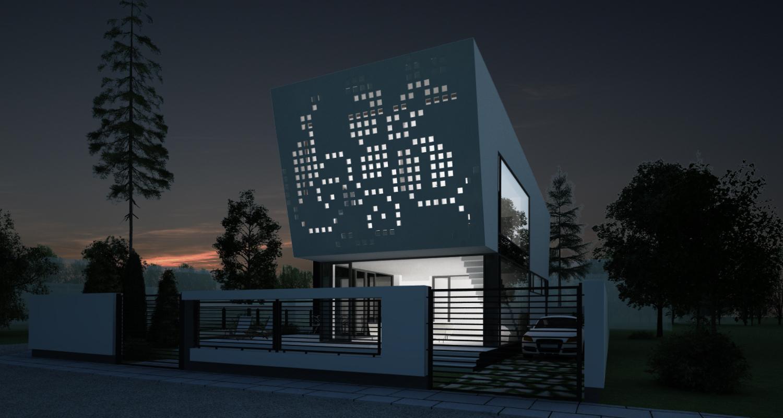 Proiect Locuinta Unifamiliala in Bucuresti, S1 | Concept Design locuinta unifamiliala cod VMI in Bucuresti, S1 | proiect din portofoliul CUB Architecture