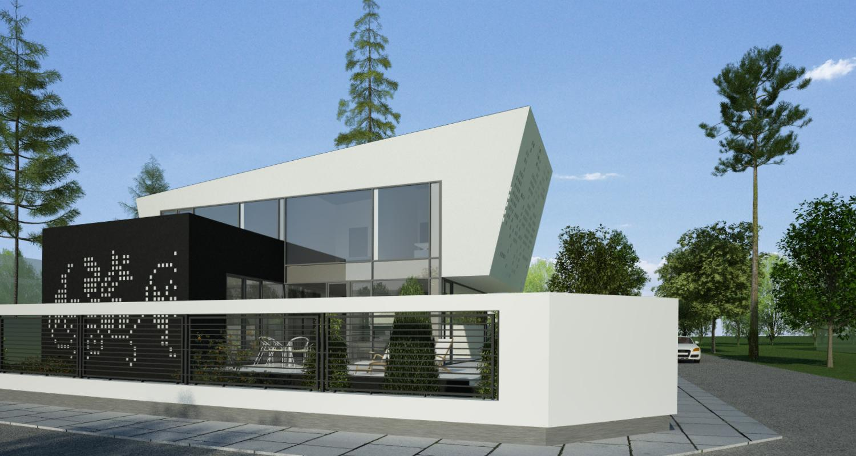 Proiect Locuinta Unifamiliala in Bucuresti, S1 | Concept Design proiect locuinta unifamiliala cod VMI in Bucuresti, S 1 | proiect din portofoliul CUB Architecture