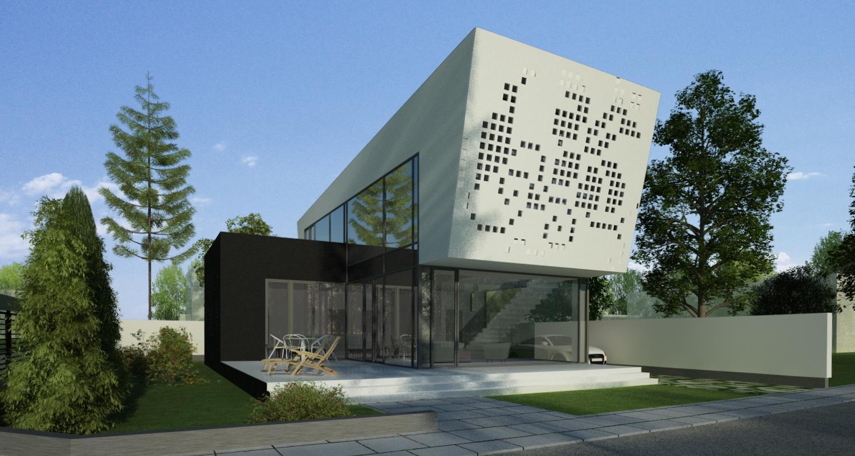 Proiect Locuinta Unifamiliala in Bucuresti, S1 | Concept Design proiect locuinta unifamiliala cod VMI in Bucuresti, Sector 1 | proiect din portofoliul CUB Architecture