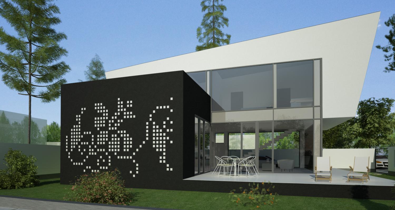 Proiect Locuinta Unifamiliala in Bucuresti, Sector 1 | Concept Design proiect locuinta unifamiliala cod VMI in Bucuresti, S 1 | proiect din portofoliul CUB Architecture