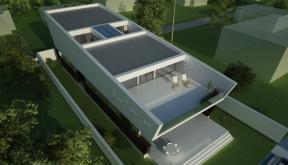 Locuinta Moderna pe malul lacului | Concept Design finalizat casa pe malul lacului si piscina | cod LTO in Ovidiu | proiect din portofoliul CUB Architecture