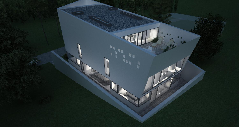 Bob Residence, Gordola, Elvetia | Concept Design | Imobil rezidential, cod BOBE Gordola, Elvetia - proiect din portofoliul CUB Architecture