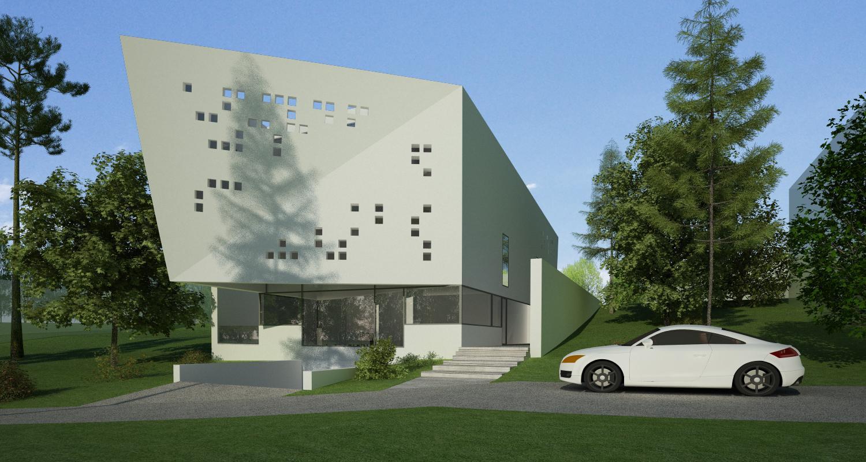 Bob Residence Imobil apartamente, Gordola, Elvetia | Concept Design finalizat | Imobil rezidential cu apartamente, cod BOBE Gordola, Elvetia - proiect din portofoliul CUB Architecture