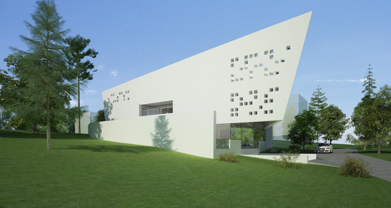 Bob Residence Imobil rezidential, Gordola, Elvetia | Concept Design finalizat | Imobil rezidential, cod BOBE Gordola, Elvetia - proiect din portofoliul CUB Architecture