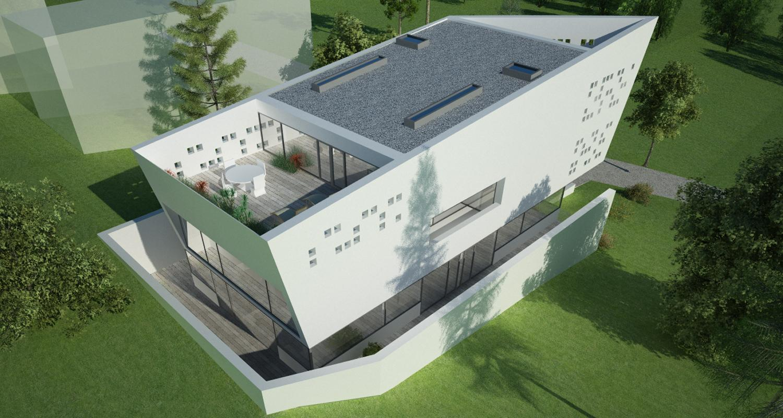 Bob Residence Imobil rezidential, Gordola, Elvetia | Concept Design | Imobil rezidential, cod BOBE Gordola, Elvetia - proiect din portofoliul CUB Architecture