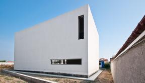 Locuinte moderne | Lucrare in curs de finalizare casa moderna cod GCG-Fin Galati, zona Metro | portofoliul CUB Architecture
