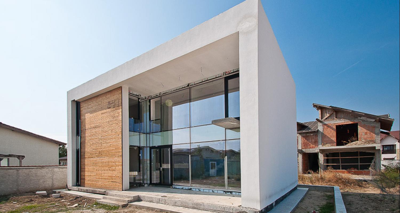 Casa Cub Moderne
