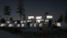 Proiect Hotel si Restaurant Hunedoara | concept design proiect boutique hotel si restaurant pe malul lacului Cinis, Hunedoara | proiect din portofoliul CUB Architecture