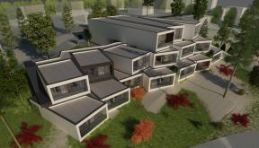 Proiect Hotel si Restaurant Hunedoara | concept design proiect hotel si restaurant pe malul lacului Cinis, Hunedoara | proiect din portofoliul CUB Architecture