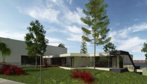Proiect Hotel si Restaurant Hunedoara | concept design proiect hotel si restaurant pe malul lacului, Hunedoara | proiect din portofoliul CUB Architecture