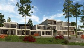 Proiect Hotel si Restaurant Hunedoara, HD | concept design proiect hotel si restaurant pe malul lacului, Hunedoara | proiect din portofoliul CUB Architecture