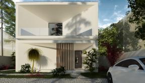 Locuinta Minimalista Moderna Slobozia, IL | Concept Design casa  minimalista moderna cu parter si etaj etaje cod TIN Slobozia, IL | proiect din portofoliul CUB Architecture