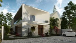 Locuinta Minimalista Moderna Slobozia, Ilaomita | Concept Design casa moderna cu parter si etaj etaje cod TIN Slobozia, Ialomita | proiect din portofoliul CUB Architecture
