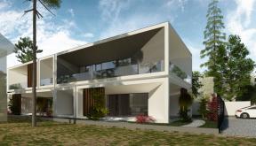 Locuinta Minimalista Moderna Slobozia, Ilaomita | Concept Design finalizat casa moderna cu parter si etaj etaje cod TIN Slobozia, Ialomita | proiect din portofoliul CUB Architecture