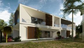 Locuinta Minimalista Moderna Slobozia, Ilaomita | Concept Design finalizat casa moderna cu parter si etaj etaje cod TIN Slobozia, IL | proiect din portofoliul CUB Architecture