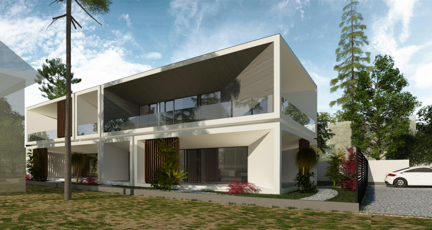 Modern House in Slobozia, Ialomita – project from CUB Architecture ...