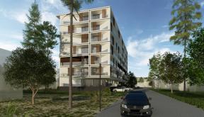 Ansamblu rezidential CVR zona cartier Berceni, Bucuresti, S4 | Concept Design Finalizat bloc de locuinte modern cu apartamente - demisol parter si 6 etaje cod BICB in Bucuresti, S4 | Proiect din portofoliul CUB Architecture