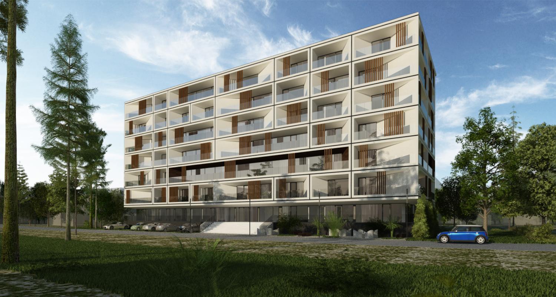 Ansamblu rezidential CVR zona Berceni, Bucuresti, S4 | Concept Design bloc de locuinte modern cu apartamente - demisol parter si 6 etaje cod BICB in Bucuresti, S4 | Proiect din portofoliul CUB Architecture
